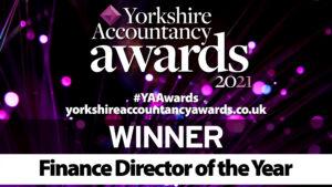 Finance Director of the Year Winner Logo